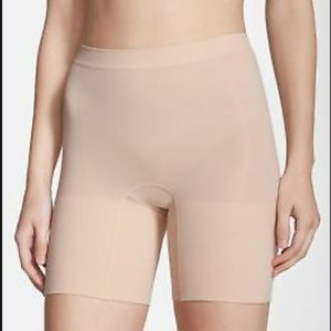 Never Worn! SPANX Power Shorts in nude